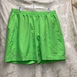 Under Armour Fitted Heat Gear Swim/running short